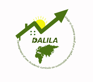 [DALILA] – Development of new Academic curricuLa on sustaInabLe energies and green economy in Africa