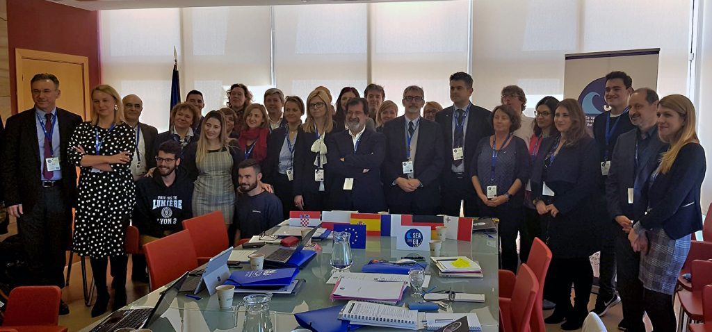 Encuentro de lanzamiento de la Universidad Europea de los Mares SEA-EU
