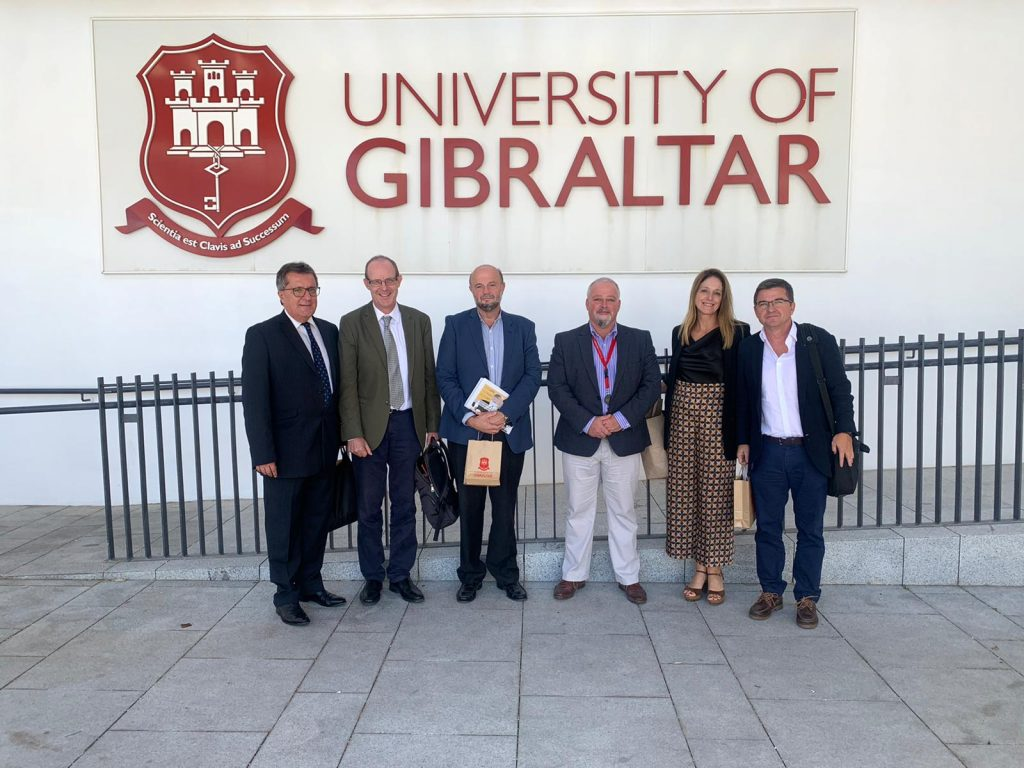 Primer contacto entre la UCA y la Universidad de Gibraltar