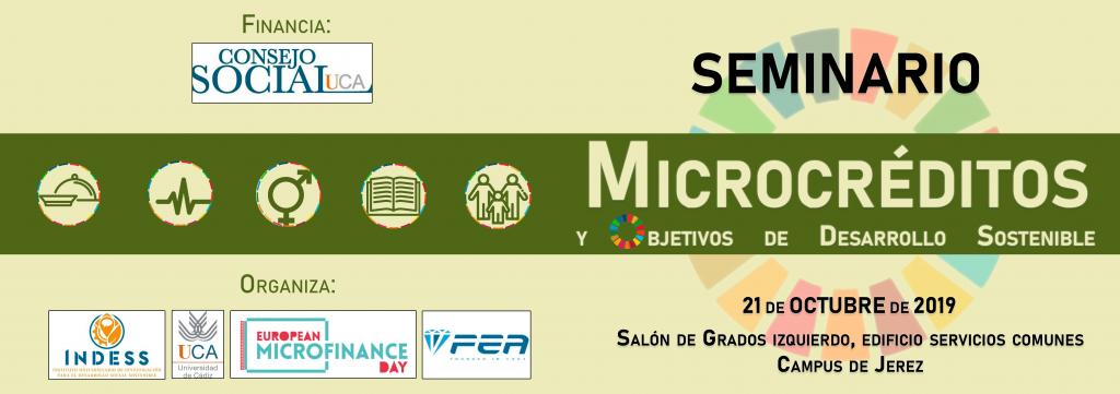 Seminario de Microcréditos y (ODS)