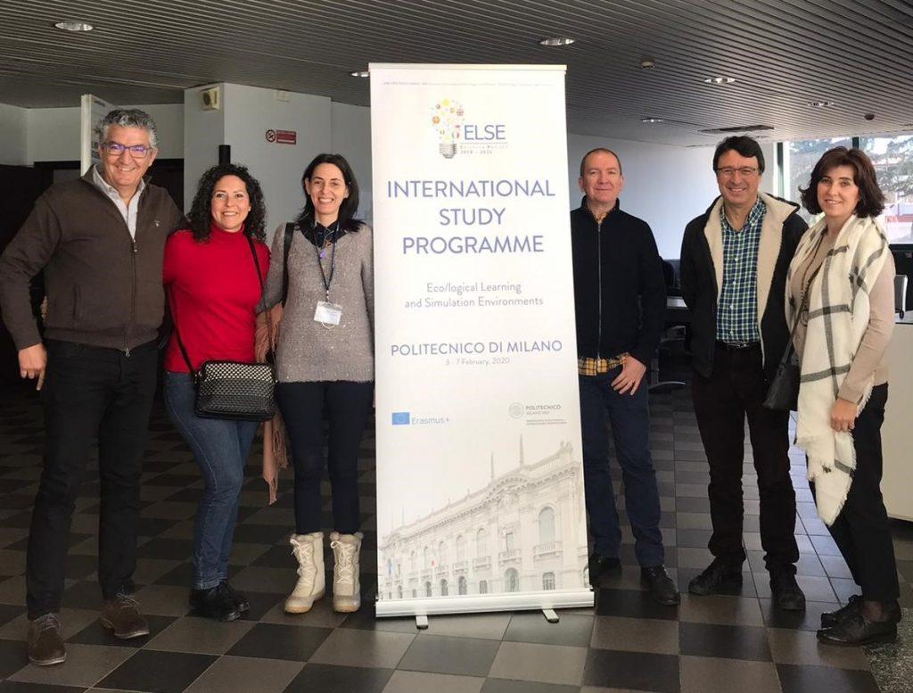 La UCA asiste en Milán a un curso de gamificación y simulación para la docencia universitaria