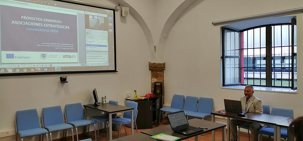 La UCA organiza el primer curso virtual de proyectos del programa Erasmus+ de este otoño
