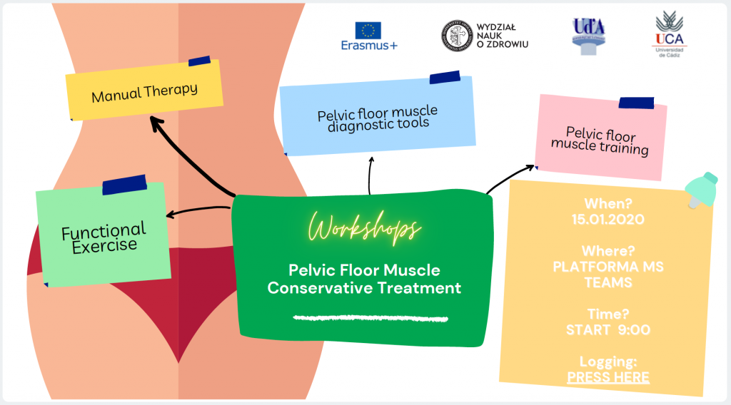 "Workshop 'Pelvic Floor Muscle Conservative Treatment"""