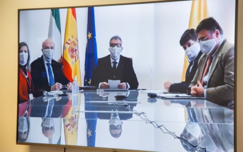 IMG A Cooperation Agreement between the Eurasian Peoples' Assembly and the University of Cadiz