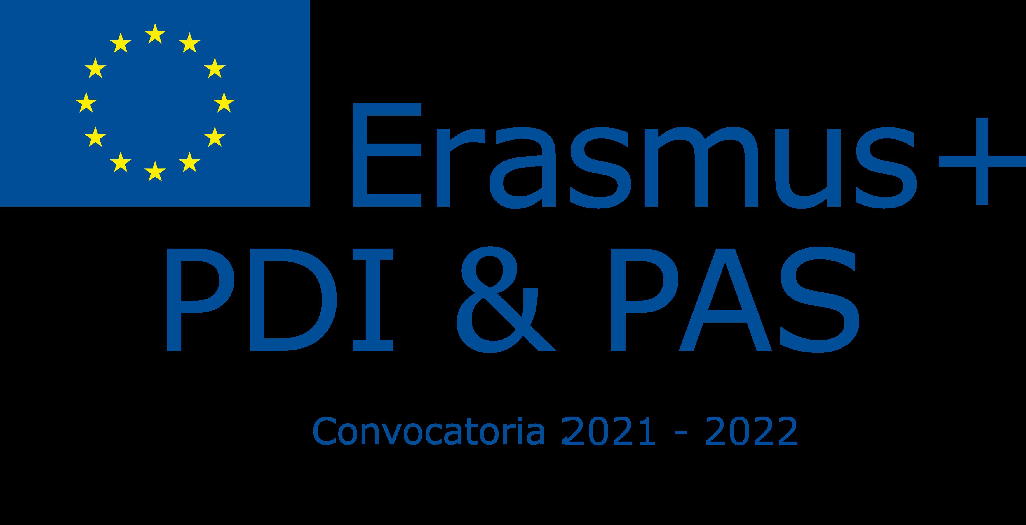 Abierta la convocatoria Erasmus + para la movilidad del PAS y del PDI para el curso 2021-2022