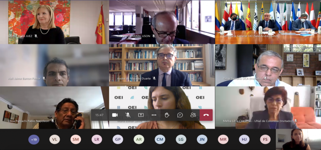 Reunión de constitución de la Red Iberoamericana de Universidades comprometidas con la Educación en  Derechos Humanos y Ciudadanía Inclusiva