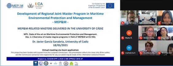 Proyecto MEPM Visita a la UCA de representantes de las universidades de Albania y Montenegro