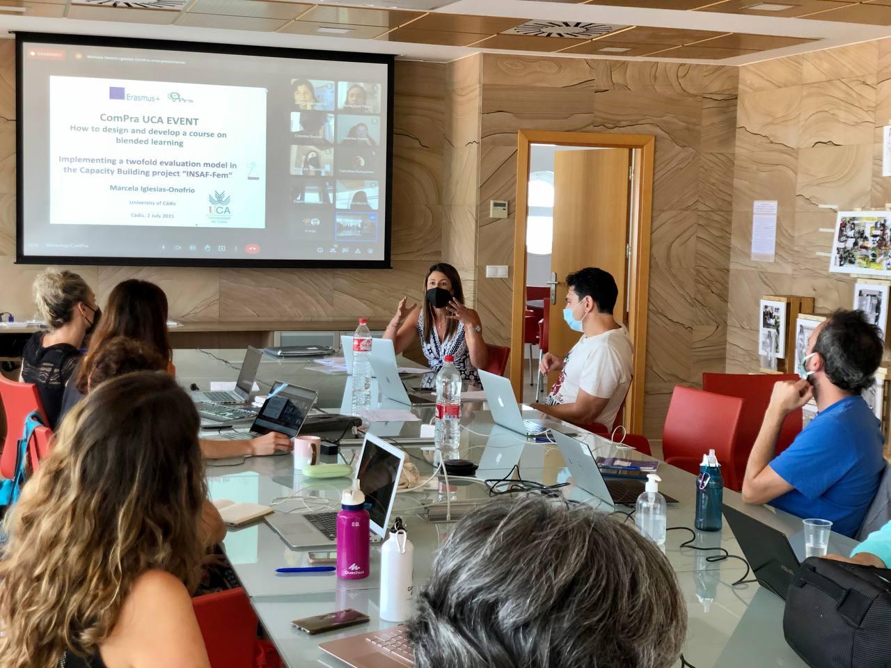 INSAF-Fem participa en el Workshop organizado por el proyecto COMPRA