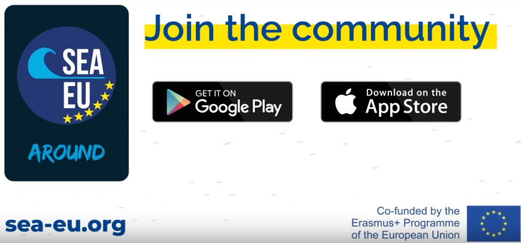 SEA-EU Around, la aplicación