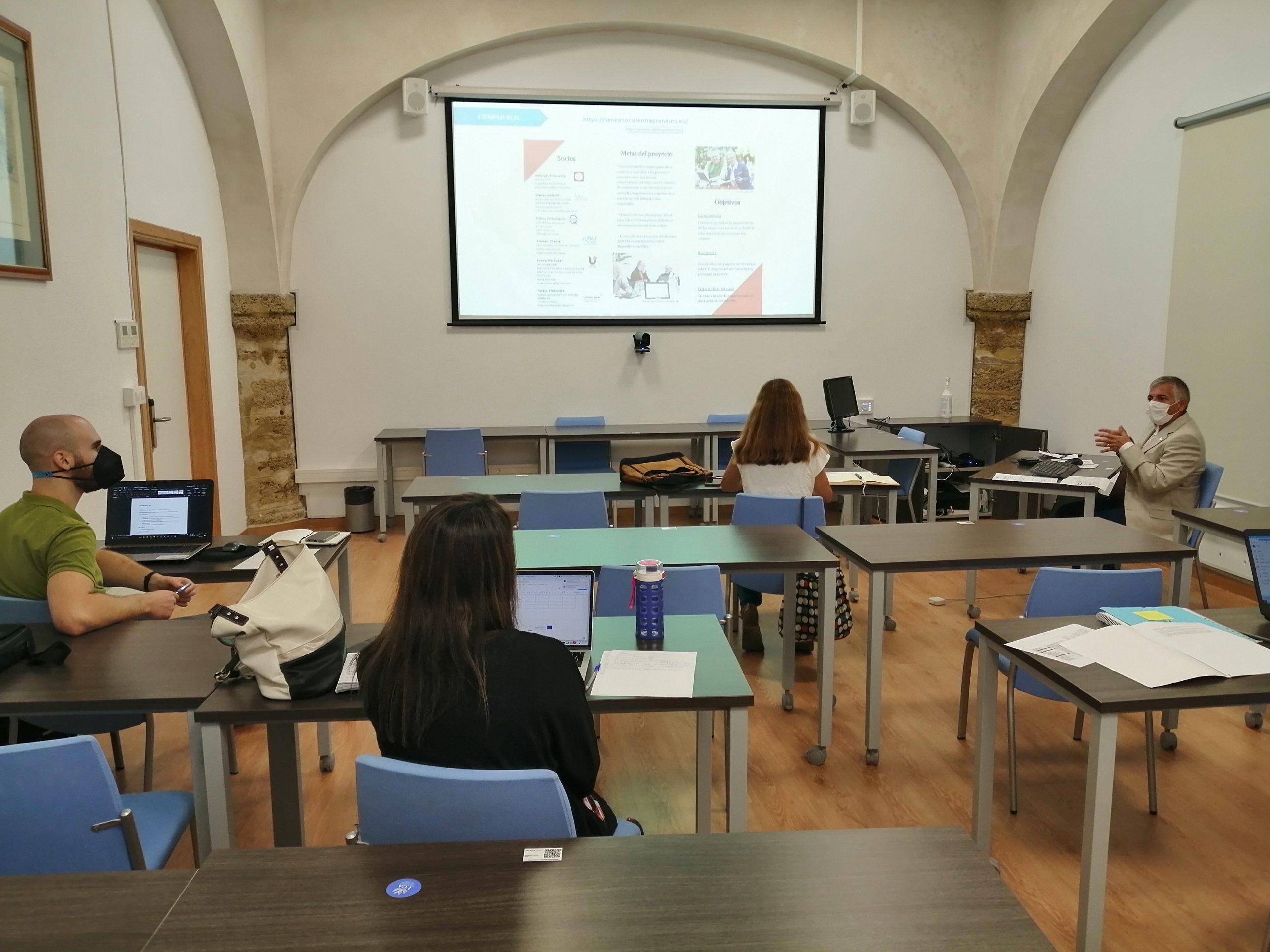 La UCA realiza el curso de redacción de propuestas de Asociaciones de Cooperación del programa Erasmus+
