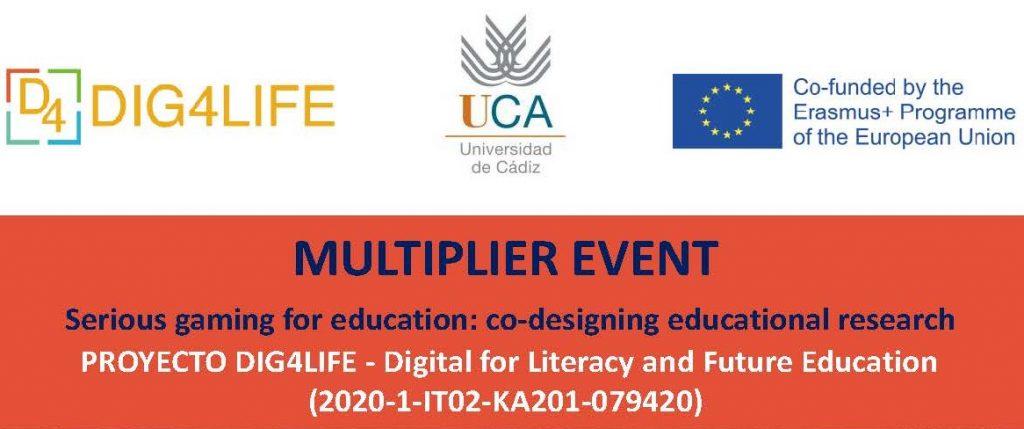 El proyecto Dig4Life celebra su primer evento multiplicador, que tendrá lugar en la UCA
