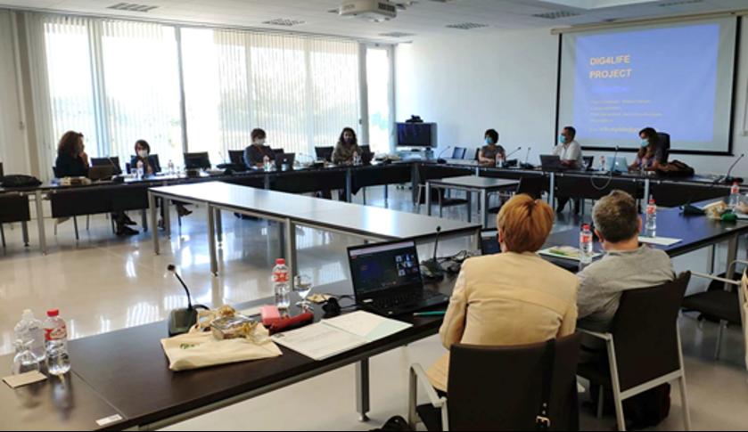 La Universidad de Cádiz sede de la tercera reunión transnacional del proyecto Dig4Life