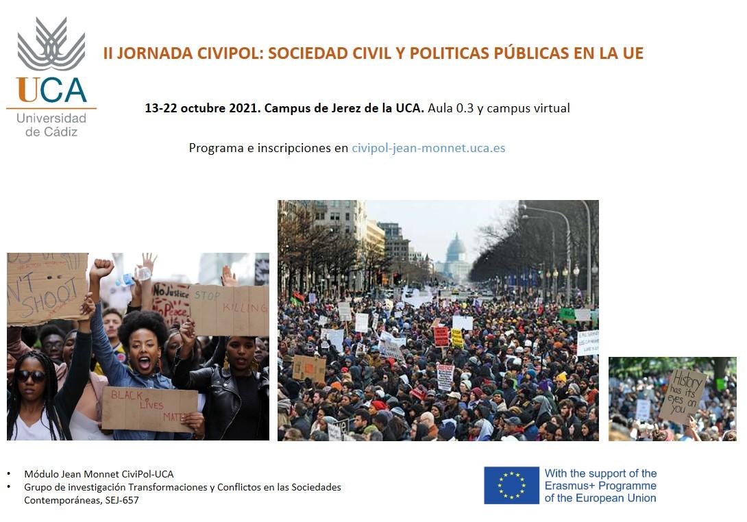 II Jornada de Otoño CIVIPOL: Sociedad Civil y Políticas Públicas en la Unión Europea